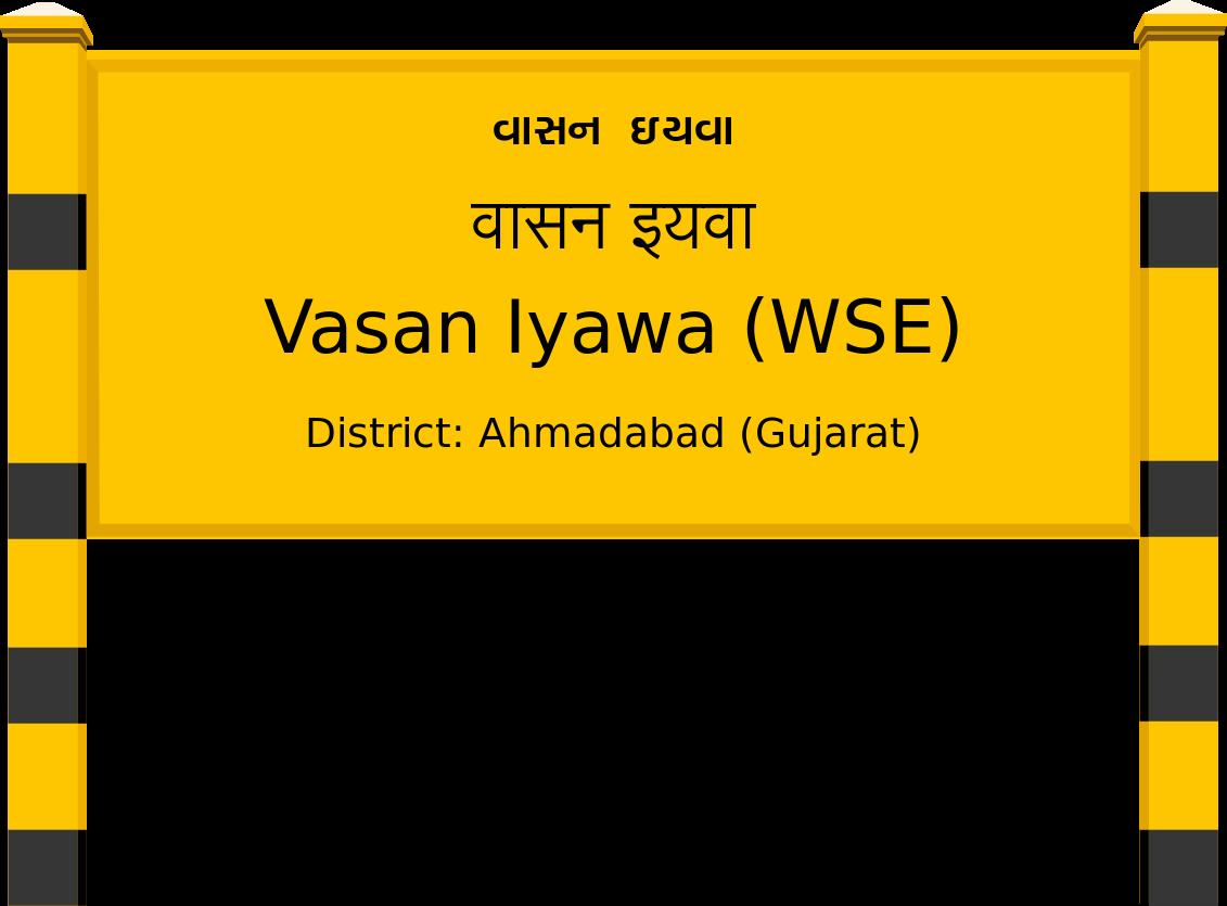 Vasan Iyawa (WSE) Railway Station