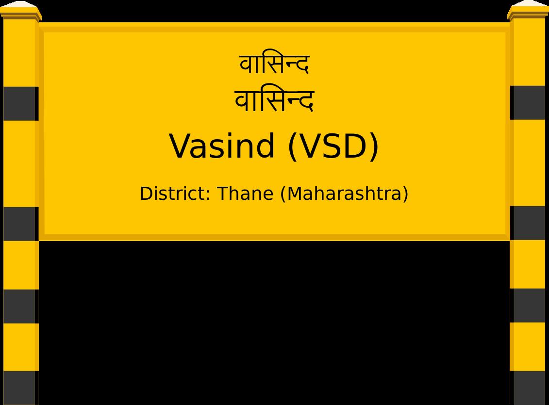 Vasind (VSD) Railway Station