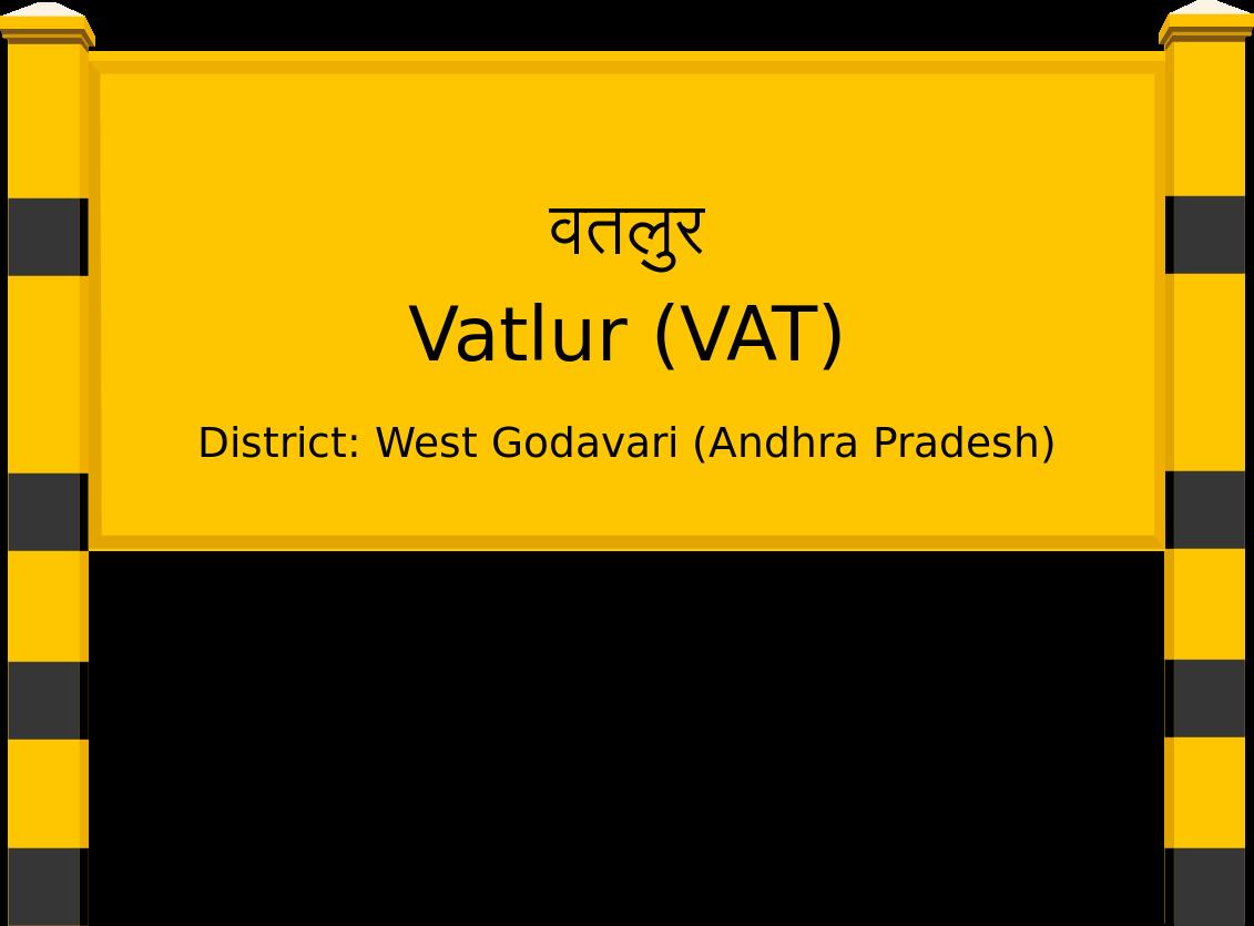 Vatlur (VAT) Railway Station