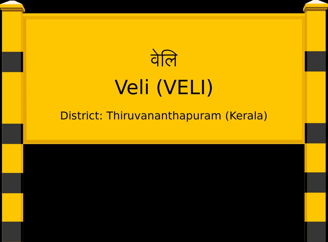 Veli (VELI) Railway Station
