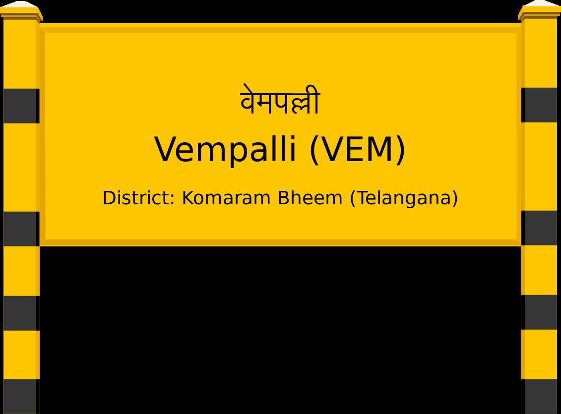 Vempalli (VEM) Railway Station