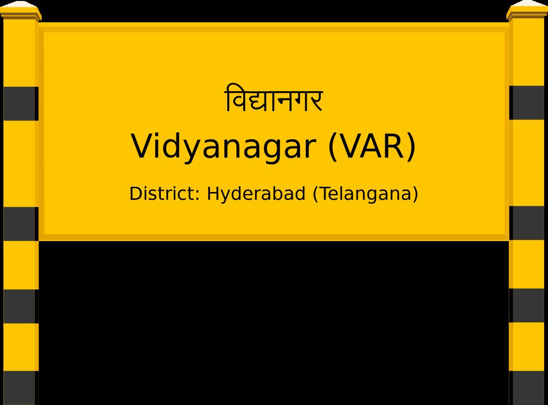 Vidyanagar (VAR) Railway Station