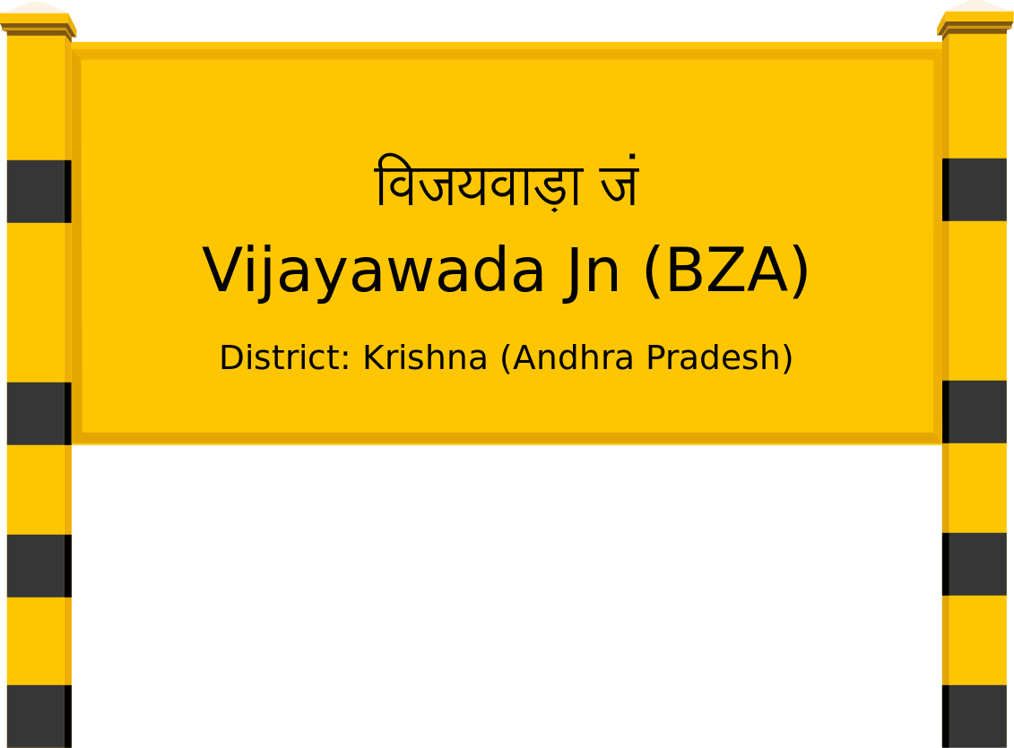 Vijayawada Jn (BZA) Railway Station