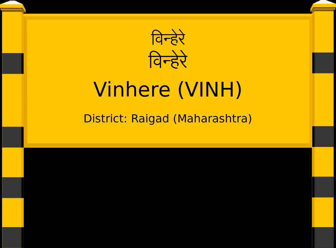 Vinhere (VINH) Railway Station