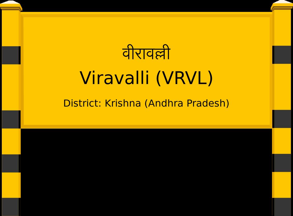 Viravalli (VRVL) Railway Station
