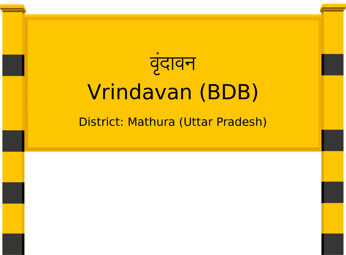 Vrindavan (BDB) Railway Station