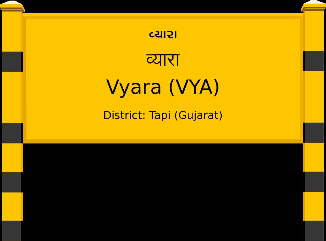 Vyara (VYA) Railway Station