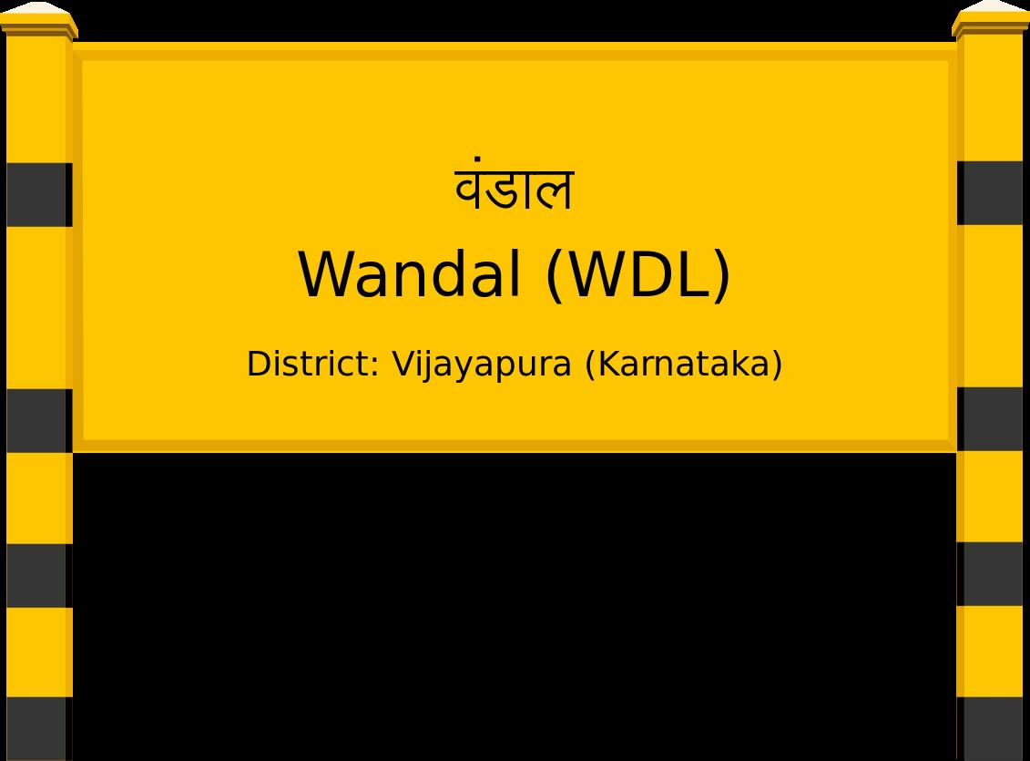 Wandal (WDL) Railway Station