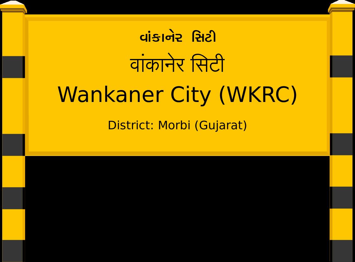 Wankaner City (WKRC) Railway Station