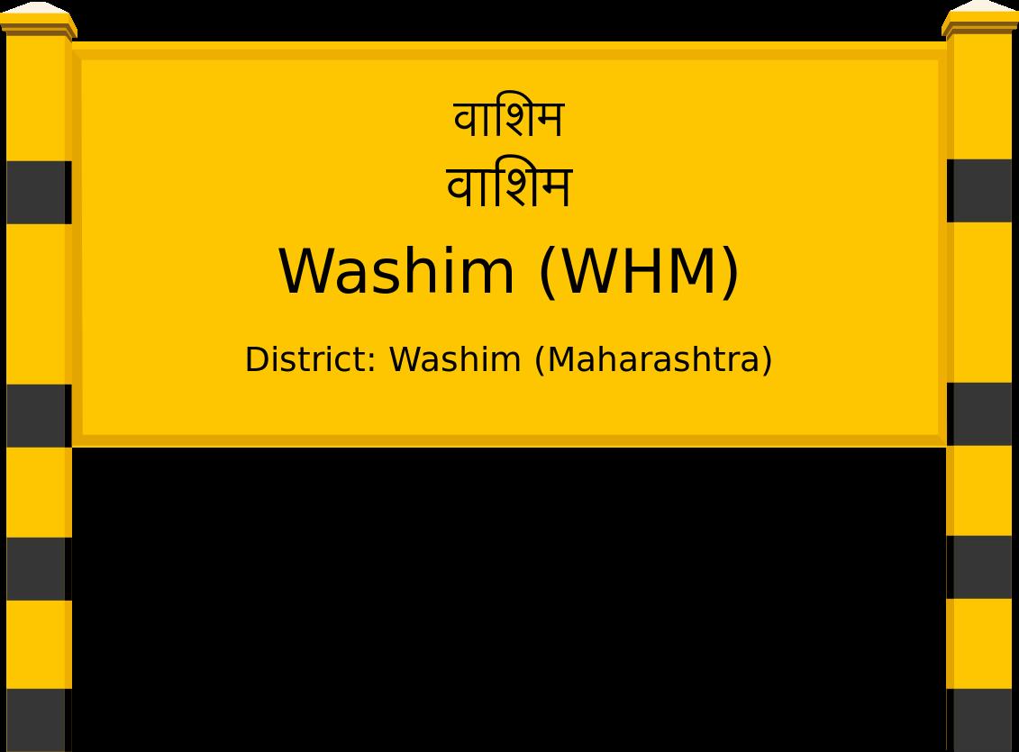 Washim (WHM) Railway Station
