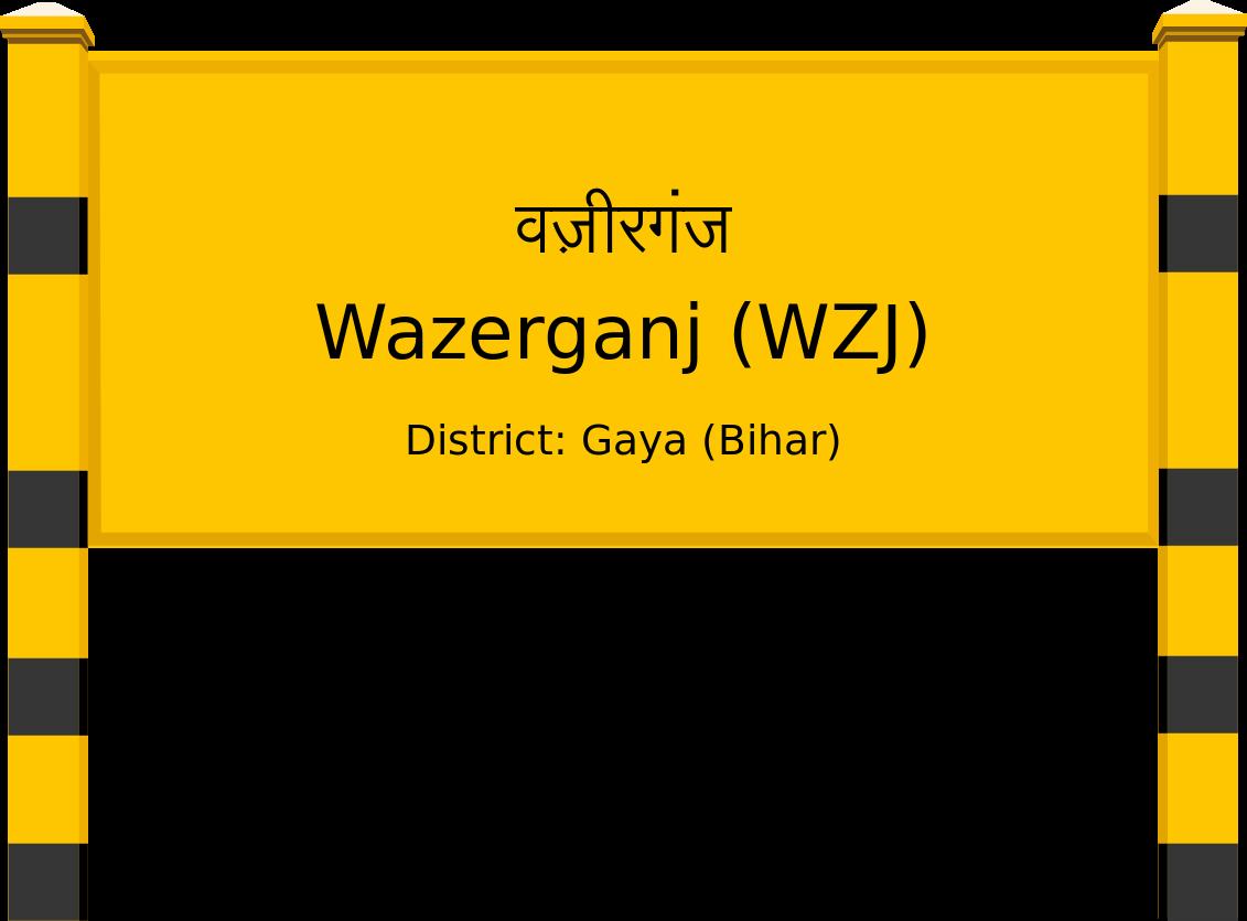 Wazerganj (WZJ) Railway Station