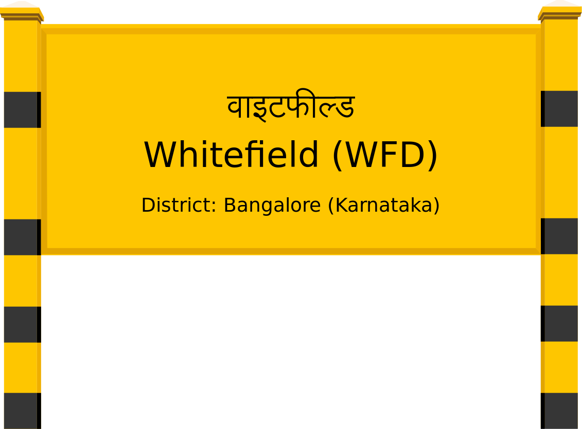Whitefield (WFD) Railway Station