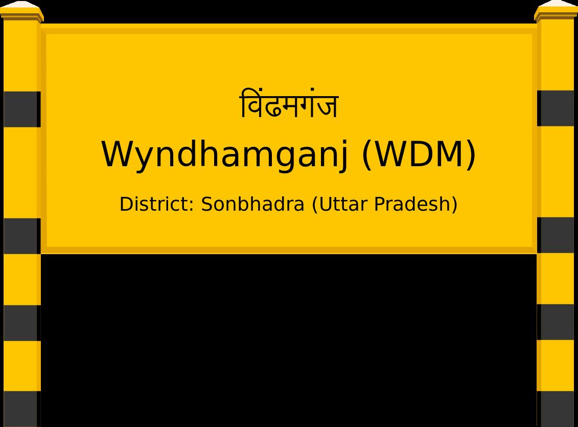 Wyndhamganj (WDM) Railway Station