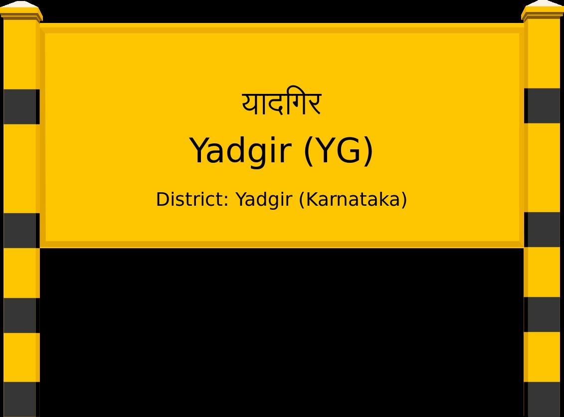 Yadgir (YG) Railway Station