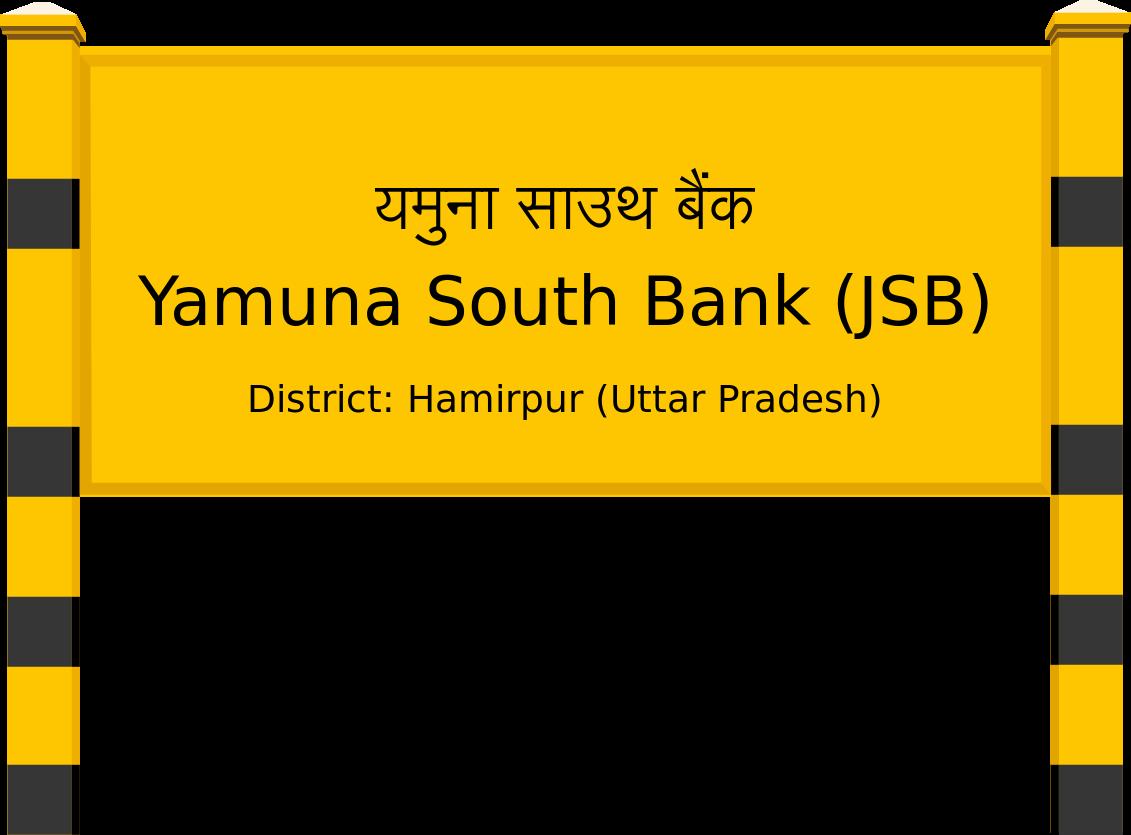 Yamuna South Bank (JSB) Railway Station