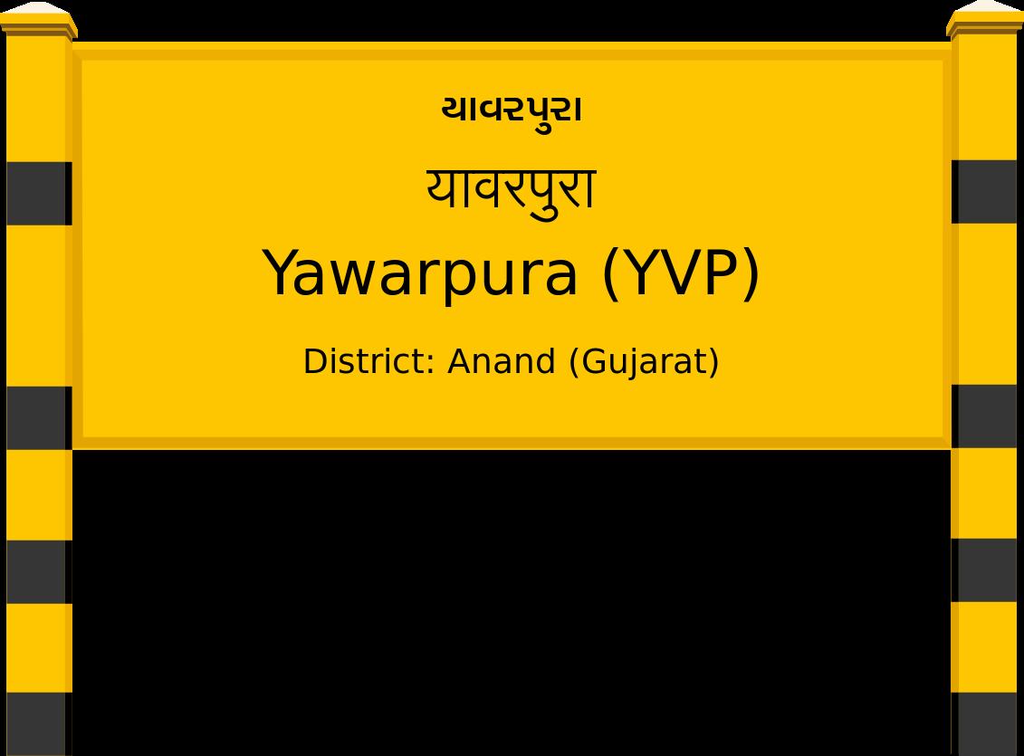 Yawarpura (YVP) Railway Station