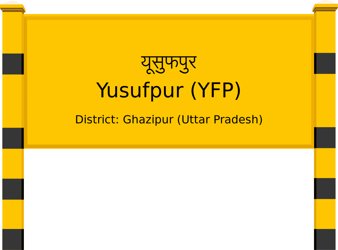 Yusufpur (YFP) Railway Station