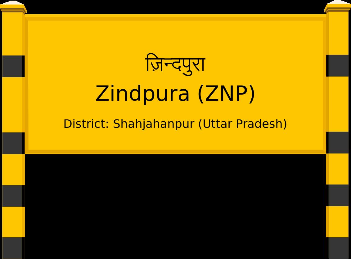 Zindpura (ZNP) Railway Station