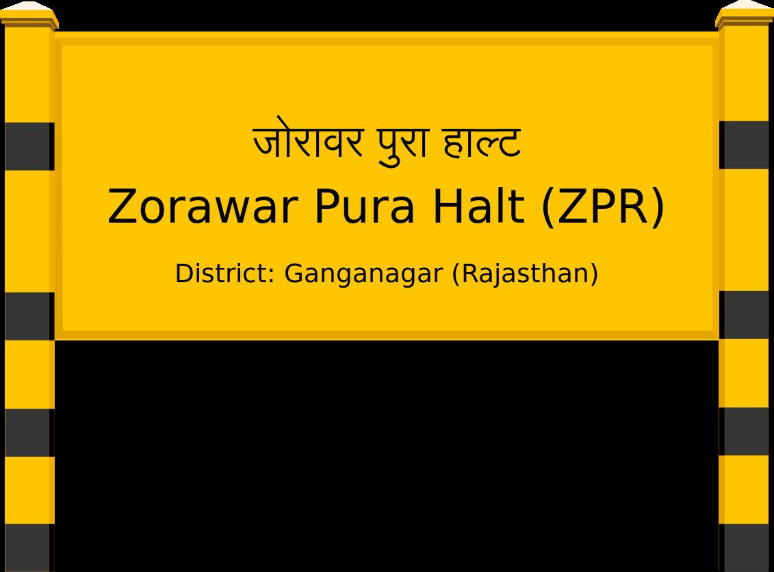Zorawar Pura Halt (ZPR) Railway Station