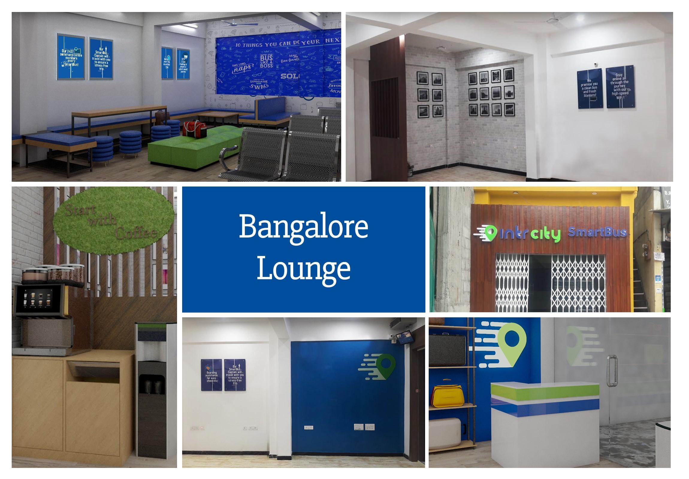 Intrcity by railyatri  smartbus lounge  bangalore pics  1572865792