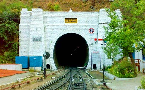 Barog_tunnel