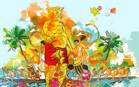 Message-board_onam-celebrations-in-kerala