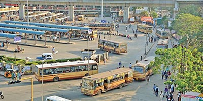 Asia%e2%80%99s largest bus terminus at the heart of chennai