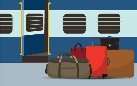 Message board new luggage rules for indian railways 1533878840